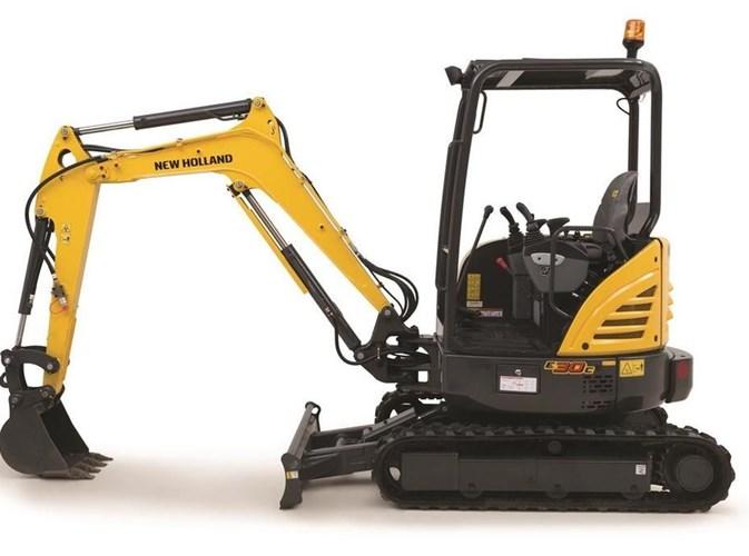 2020 New Holland E30C Excavator-Mini For Sale