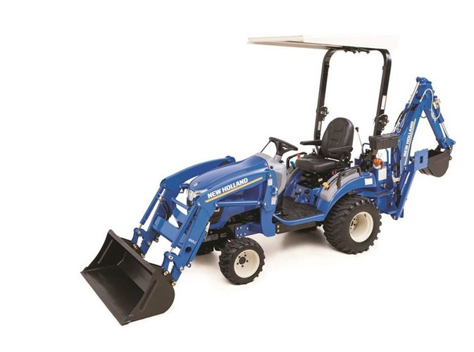 2021 New Holland Workmaster 25S + 100LC LDR + 905GBL BH Tractor - Compact Utility For Sale