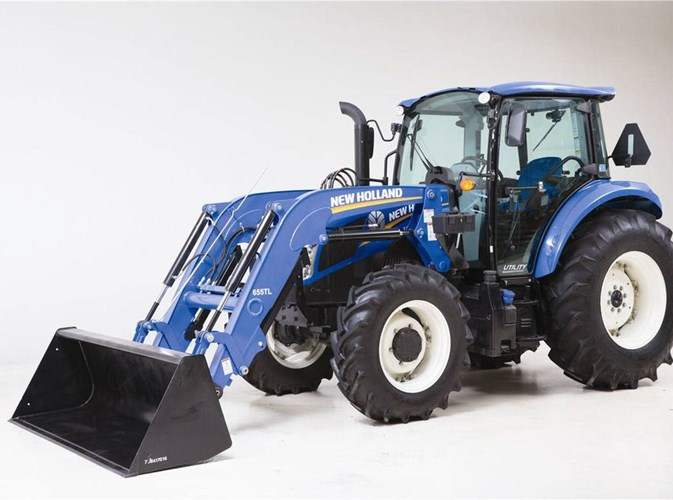 2021 New Holland T5.120 Dual-Command Tractor For Sale
