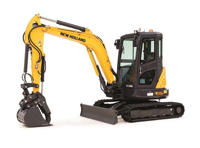 2021 New Holland E37C Excavator-Mini For Sale
