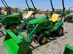 Tractor - Compact Utility For Sale 2020 John Deere 1023E , 23 HP