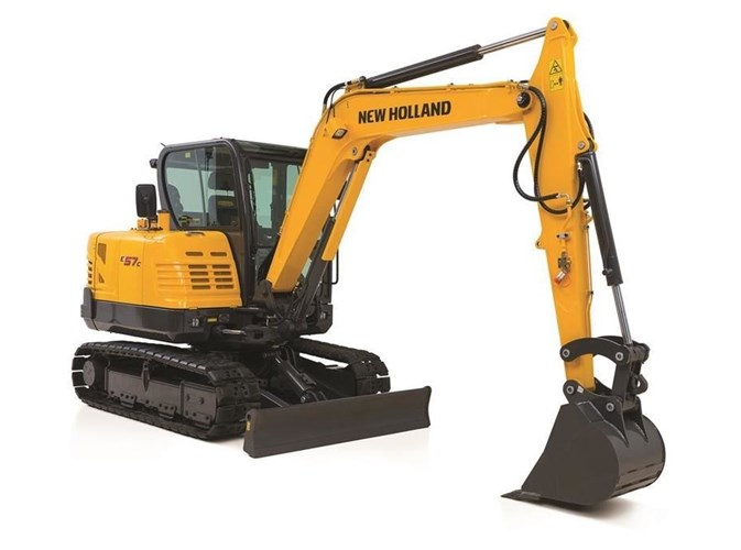 2021 New Holland E57C Excavator-Mini For Sale