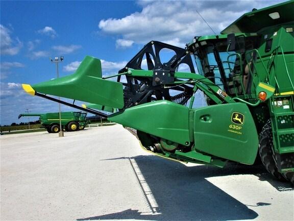 2007 John Deere 630F Header-Auger/Flex For Sale
