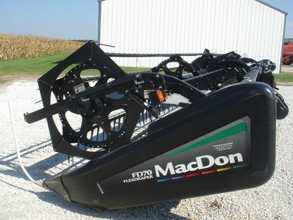 2010 MacDon FD70-40 Header-Draper/Flex For Sale
