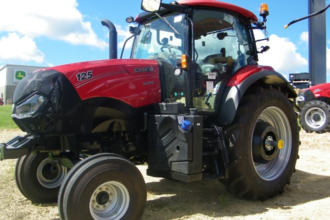 2021 Case IH 125 Tractor For Sale