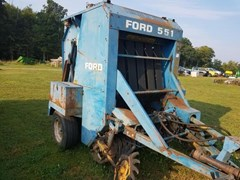 Baler-Round For Sale Ford 551