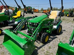 Tractor - Compact Utility For Sale 2021 John Deere 1025R , 25 HP
