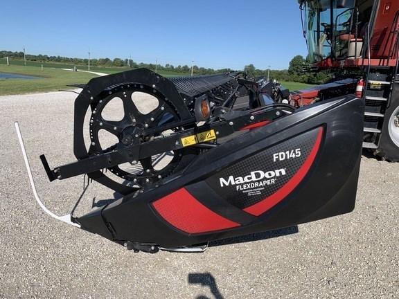 2021 MacDon FD145 Header-Draper/Flex For Sale