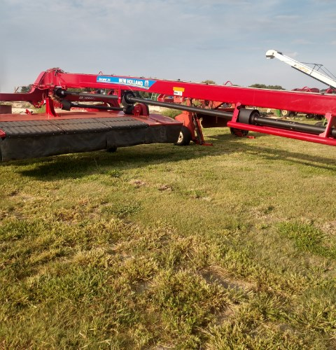 2015 New Holland DB316R Windrower-Pull Type For Sale
