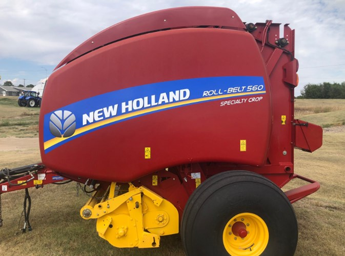 2018 New Holland 560 Baler-Round For Sale