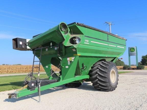 2008 J & M 1150-22S Grain Cart For Sale