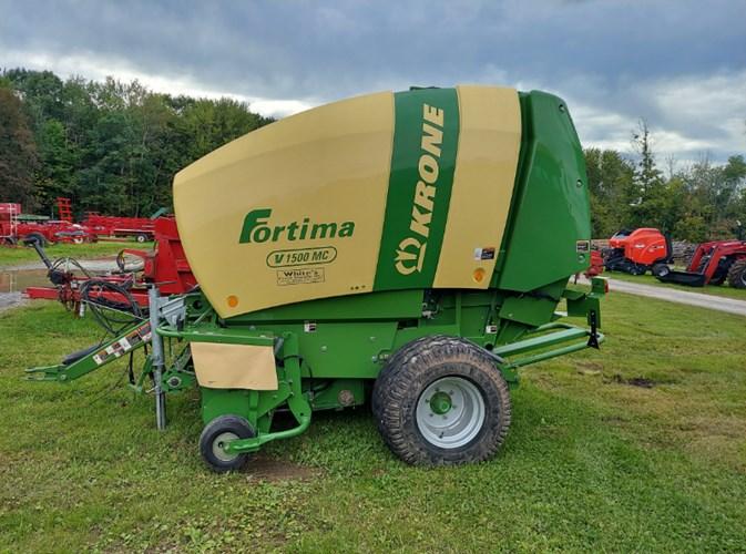 2017 Krone Fortima V1500 Baler-Round For Sale