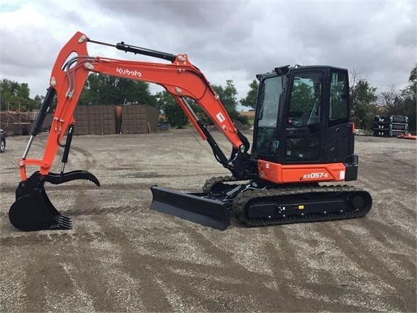 2021 Kubota KX057-5 Excavator-Track For Sale
