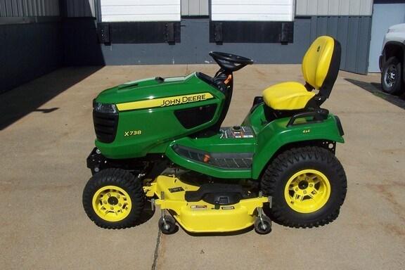 2020 John Deere X738 Riding Mower For Sale