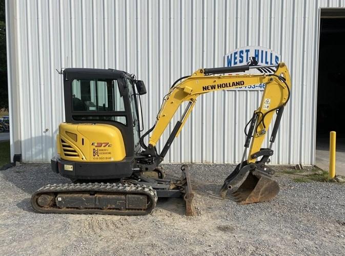 2019 New Holland E37C Excavator-Mini For Sale