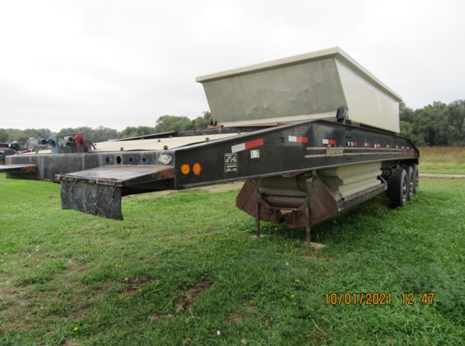 1985 Constructor 3BD37A Belly Dump Trailer For Sale