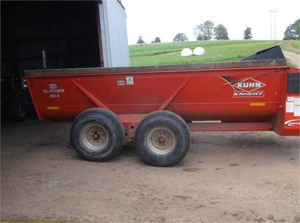 2009 Kuhn Knight 8114 Manure Spreader-Dry For Sale