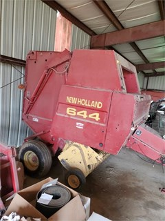 Baler-Round For Sale 1997 New Holland 644