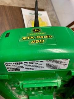 Precision Farming For Sale John Deere 450 RADIO