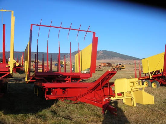 1978 New Holland 1033 Bale Wagon-Pull Type For Sale
